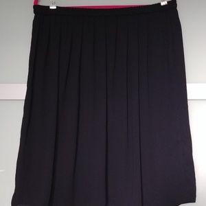 Joe Fresh Skirts - Joe Fresh Chiffon Knee Length Skirt XL
